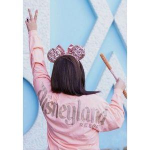 Disney Tops - Disneyland Disney Rose Gold Spirit Jersey Medium